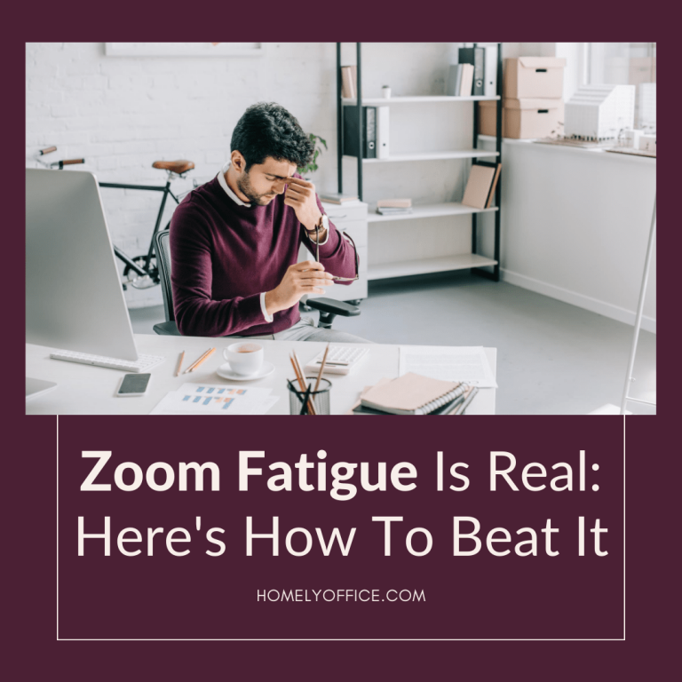 how to beat zoom fatigue